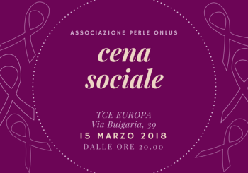 Cena Sociale 15 marzo 2018