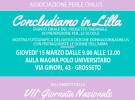 Concludiamo in Lilla 15 marzo 2018