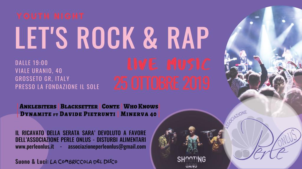 let's rock and rap disturbi alimentari