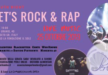 Let's Rock & Rap | Live Music per i Disturbi Alimentari